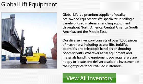 Toyota Stand Up Forklift